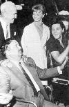 Laurel and Elvis with Jackie Gleason