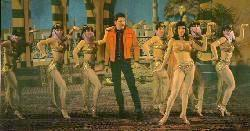 Elvis and the harem girls of Roustabout